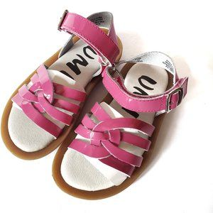 NWOT Umi Cora Patent Pink Leather Sandals …